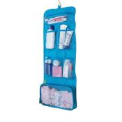 Toiletry Bag Wash Bag Travel Shaving Bag Hook Organiser Bags Cosmetic Bags for Men's or Ladies Blue UK Shipping