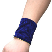CHIC-CHIC 2 pcs Stretch Wristband with Zipper Wrist Wallet Sweatband Sweat Band for Sports Fitness Running Cycling Jogging