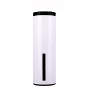 ASDYO New High-end Vacuum Double-layer Stainless Steel Straight Insulation Cup, Multi-colour Optional,White