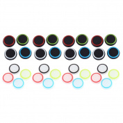 32pcs Silicone Colourful Cap Thumb Stick Joystick Grip For Sony PS4 PS3 Xbox 360 Xbox One Controller