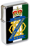 13th/18th Royal Hussars (Queen Mary's Own) Flip Top Lighter
