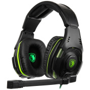 SADES SA938 Multi-Platform Gaming Headset With Mic 3.5mm Jack IN-LINE Volume Control Over-ear Gaming Headphones For New Xbox One/PC/PS4/Smartphones