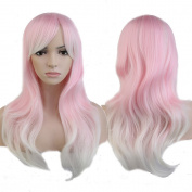 S-noilite® Fashion Womens Long Wig Wavy Curly Hair Harajuku Style Cosplay Anime Full Wigs