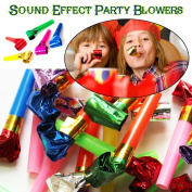 40 Pieces of Party Blowers/Horns for Christmas, Birthday, Kids, Children, Boy, Girl, Fun, Party, Party filler, Party Bag, Gifts, Toy, Sound Noisy Party