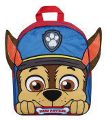 Paw Patrol Plush Fleece Front Backpack With Ears Kids' School Bag Back Pack
