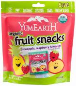 YumEarth Organic Tropical Fruit Snacks, Raspberry/Pineapple/Mango ( Packaging May Vary )