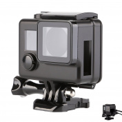 SHOOT Skeleton Side Open Protective Housing Case Shell Cover for GoPro Hero 3+/4 Camera