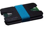 Carbon Fibre ID Minimalistic Stylish Wallet Money Clip And Credit Card Holder Slim, Light and Extra Compact - By ThreeAM