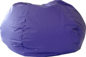 Gold Medal 30014046817 XX-Large Leather Look Bean Bag, Purple