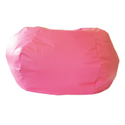 Gold Medal 30014046822 XX-Large Leather Look Bean Bag, Hot Pink