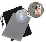 HomeOutdoor® Ultimate Travel Shaving / Make Up Mirror - Fog Free & Unbreakable - Shave Well in the Shower!