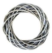 Medium Antique Wash Willow Ring Wreath 38cm Diameter