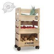 Balvi - Vegetable rack Fresh Market wood