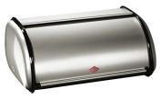 Wesco Roller Bread Bin 13.5 cm x 33 cm x 21.5 cm New Silver