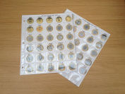 Coin Album Pages for Decimal £2 0.9kg Collections