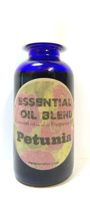 Petunia Premium Grade Fragrance Oil, 30ml Blue Glass Bottle Skin Safe, Soap Oil, Candle Oil