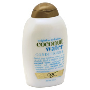 OGX Weightless Hydration Coconut Water Conditioner 380ml (Pack of 4) +