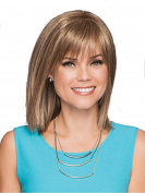 Short Women Wigs Shoulder Length Women Wigs with Bangs