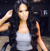 PlatinumHair-z 8A Quality Brazilian Virgin Hair Lace Front Wig Bleached Knots wave Glueless lace Human Hair Wigs For Black Women