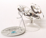 Gustav Lindner 3262 SCSL-beetle 50 x 43 mm Components CRYSTAL TEMPTATIONS® made SPECTRA® CRYSTAL - plated silver - Tarnish-resistant - With suction cup, for example, for windows - individually packed in a gift box - Suncatcher with suction cu ..