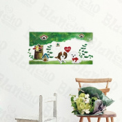 Puppy Love - Wall Decals Stickers Appliques Home Decor