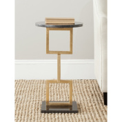 Safavieh Home Collection Cassidy Gold Accent Table