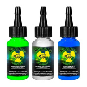 Millennium Mom's Nuclear UV Blacklight Tattoo Ink - 3 Colour Set C - 30ml