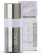 Vidazen Natural Anti Ageing Serum for Face with Restorative Healing Vitamin C Complex - Organic Plant Based Formula to Reduce Wrinkles and Fine Lines and Stimulate Collagen for Youthful Bounce and Glow