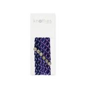 Knotties Braided Elastics, Blackberry Jam