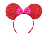 Mickey Mouse Minnie Mouse Ears Headband Sparking : M7