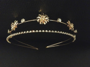 2 Layer Gold Silver Headband :SP3