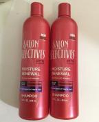 2pck - Salon Selectives Moisture Renewal Shampoo 410ml