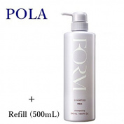 POLA FORM SHAMPOO L size 500mL & Refill 500mL SET!! --NEW-- With Tracking number!!