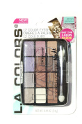 L.A. Colours Eyeshadow Pallet 12 Vibrant Glamorous New Colours
