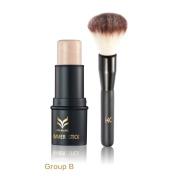 Shouhengda Highlighter Stick Shimmer Cream Powder Waterproof Light Face Cosmetics