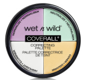 wet n wild Cover All Correcting Palette, Colour Commentary, 5ml