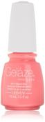 Gelaze Gel-N-Base Polish, Shocking Pink, 0.5 Fluid Ounce