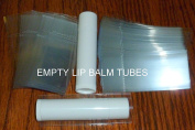 400 Clear Tamper Evident Shrink Wrap Safety Seals for LIP BALM (Chapstick) Tubes with Cap Line Perforation