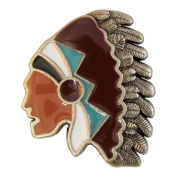 Indian Cheif Head Concho