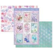 Hunkydory Floral Shimmer Forever Be My Always Topper Set Card Kit
