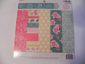 Craft Smith 15cm x 15cm Singled Sided Paper - Tea Party