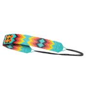 Zig Zag Beaded Elastic Headband