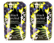 Greenwich Bay Oval Bath Bar Soaps Enriched with Shea Butter, Cocoa Butter and Botanical Oils, Decorative Individual Gift Box ROMANCE COLLECTION 190ml Ea.
