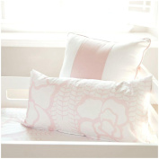 Oilo 30cm X 60cm Capri Pillow, Blush