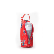 Gitta Baby Travel Thermal Bottle Holder Keep Worm / Cold Cover, Red Flowers