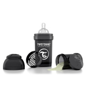 Twistshake Anti-Colic 180ml/6oz Black