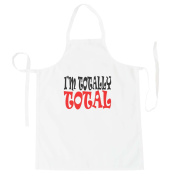 I'M TOTALLY TOTAL Funny Novelty New Apron j48b