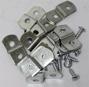 0.3cm Canvas Offset Clips With Screws 20 Pack