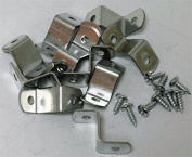 1.9cm Canvas Offset Clips With Screws 20 Pack