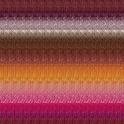Noro Silk Garden Lite, 2169 - Cooper-Brown-Fuchsia-Orange-Ash